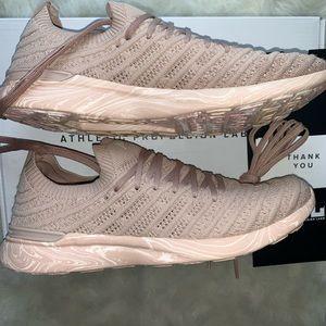 APL Womens TechLoom Wave Marble Sneaker 9 Rose